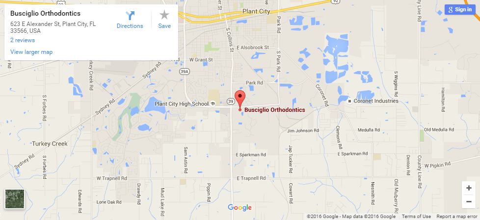 Plant City Florida Map.Plant City Orthodontics Pediatric Dentistry Busciglio Smiles